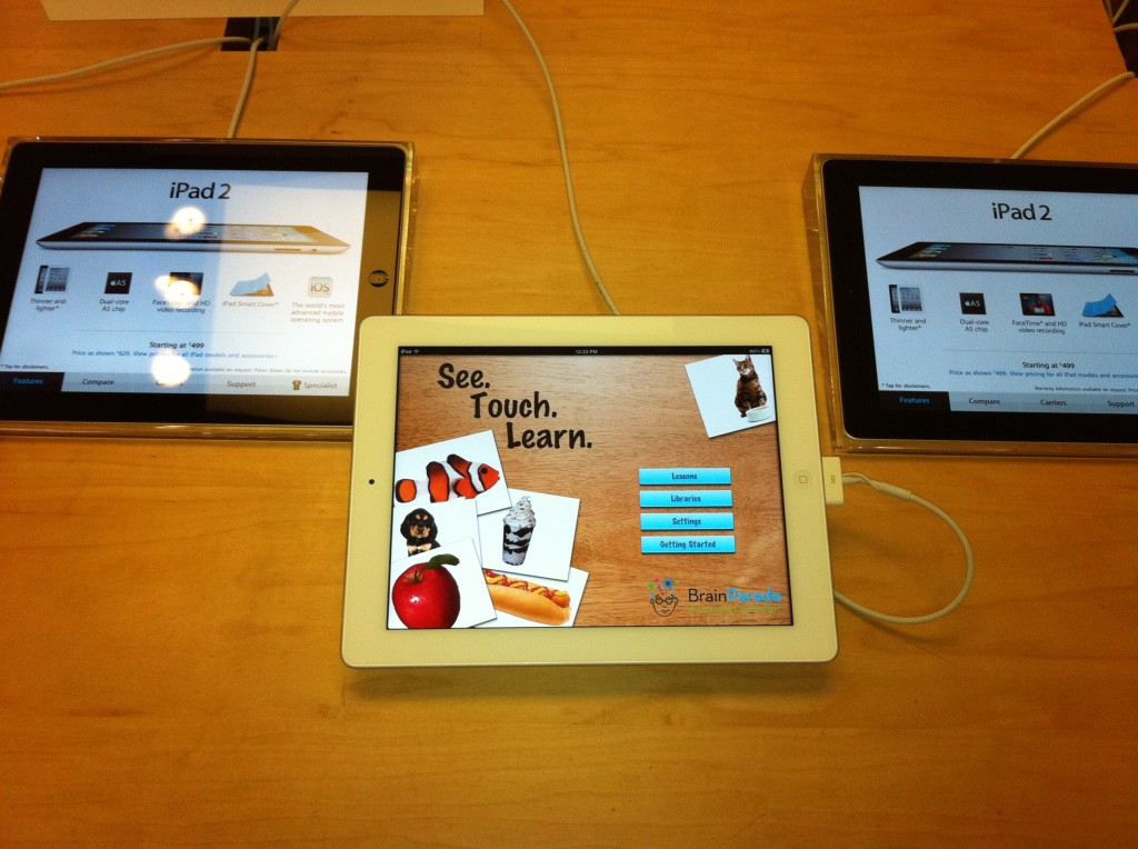 See.Touch.Learn.™ in Apple Store 1