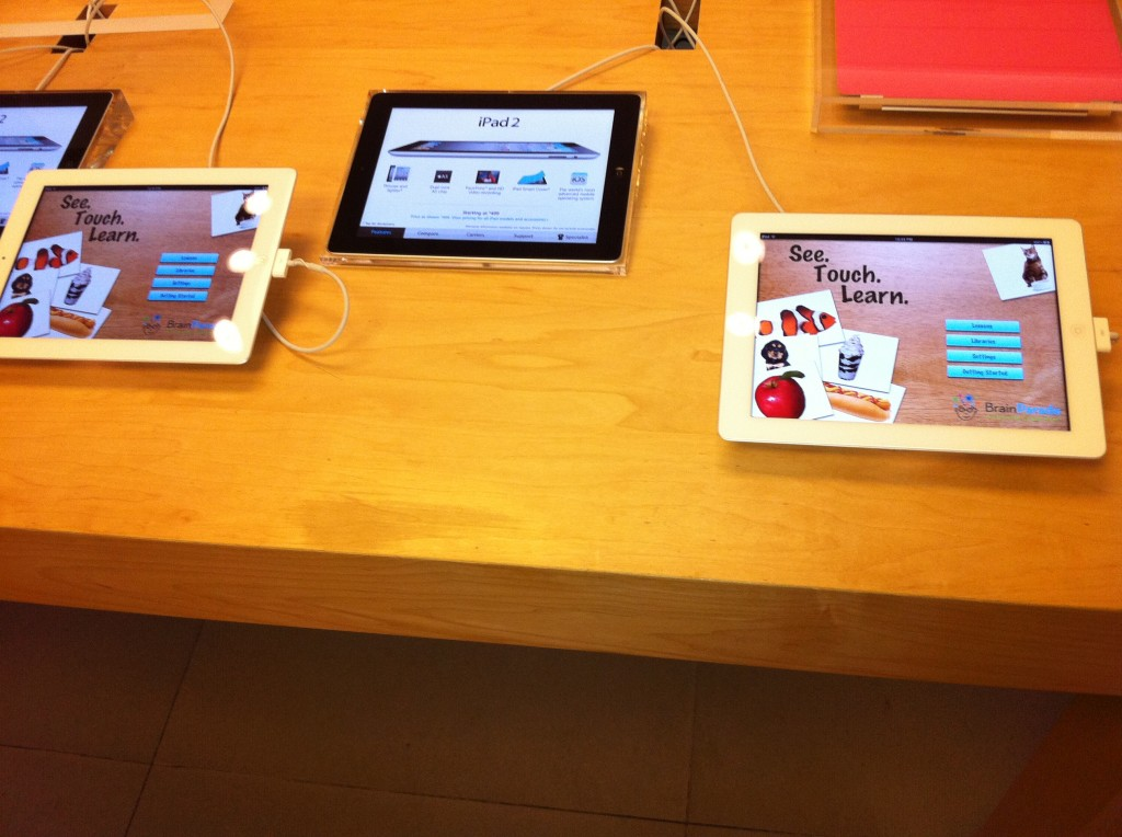 See.Touch.Learn.™ in Apple Store 2