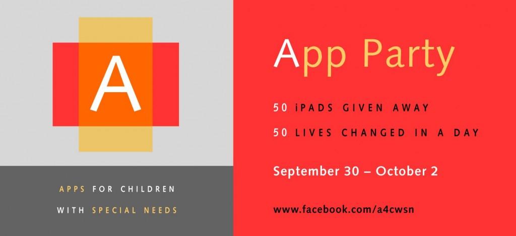 A4CWSN 3rd App Party