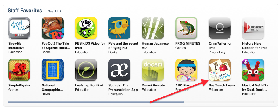 See.Touch.Learn. - iTunes Staff Favorites