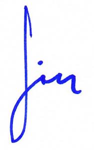 Signature --Jim