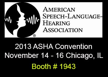 ASHA 2013 Conference Nov 14-16
